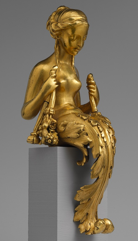 Vase or Clock Ornament  --  Circa 1770  --  French  --  Gilt bronze  --  The Metropolitan Museum of Art