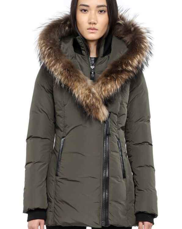 Coat with fur hood, Down coat and Mackage jacket on Pinterest