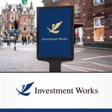 Doing1248さんの提案 - 投資運用会社「Investment Works」のロゴ制作 | クラウドソーシング「ランサーズ」