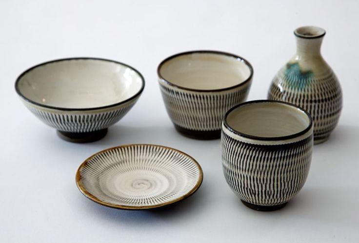 Ontayaki pottery