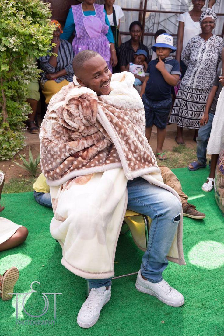 African wedding/ groom