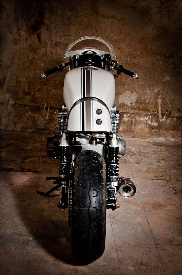 "Suzuki GS550 Cafe Racer ""Babo45"" by Mellow Motorcycles #motorcycles #caferacer #motos 