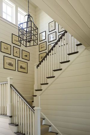 staircase_wall_art_cream_white_tan_black_country_Mountaintop_recent_work_Phoebe_Howard