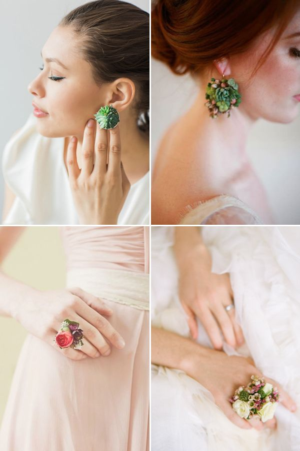"""Most brides and bridesmaids carry flowers, and we love the endless possibilities of creativity that are out there to florists. The new trend for wedding flowers is to """"wear"""" them! There are many unique ways to create wearable flower. Other than floral headpieces we are all familiar of, but also as jewelry, belts, accessories, and …"""