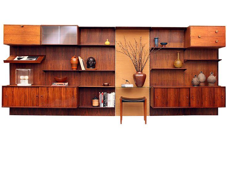 25 best ideas about modern bookcase on pinterest mid - Modern bookshelf wall unit ...