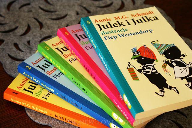 """Wczoraj dotarła do mnie kolejna paczka na Candy. Tym razem z Wydawnictwa Hokus-Pokus. A w niej cała seria 5 książeczek """"Julek i Julka"""".   ..."""