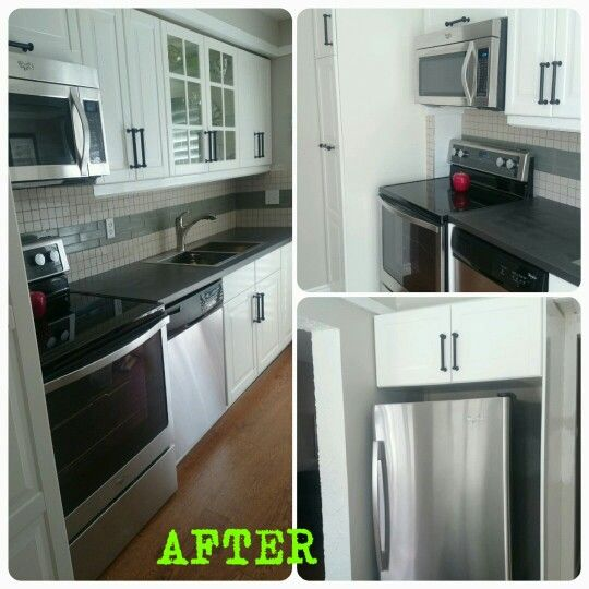 Surprise kitchen remodel #handymanworx