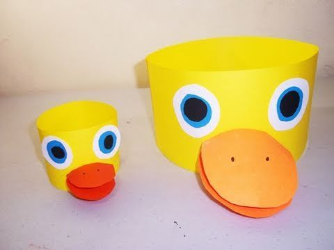 To protect yourself from the suns rays as you sit in the stands, create a duck hat that your child will surely enjoy.
