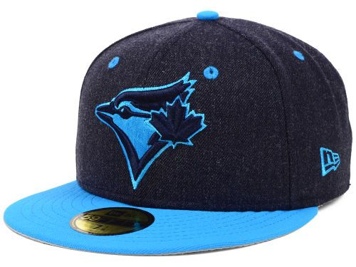 Toronto Blue Jays New Era MLB Navy Heather 59FIFTY Cap Hats