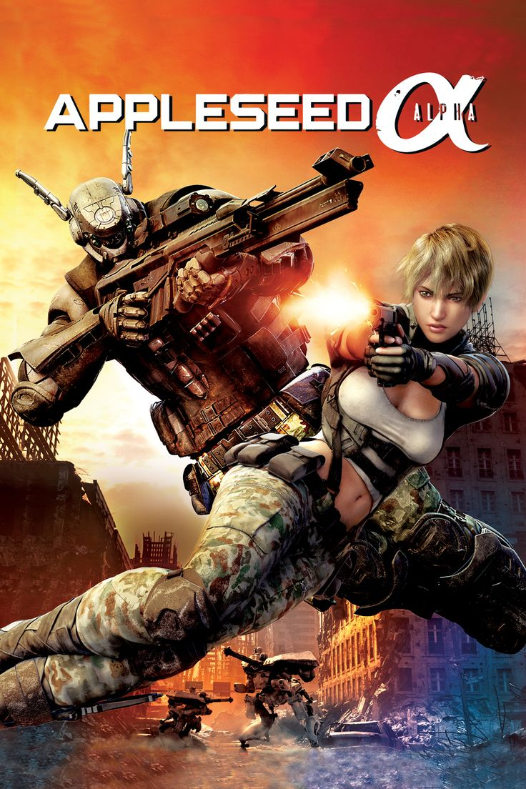 Appleseed alpha watch the preview figures anime
