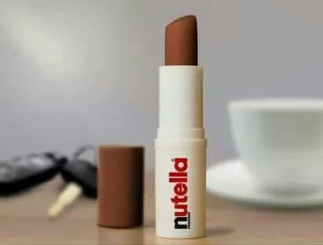 Nutella lip balm. Enough said. Who wants one? (Image: )