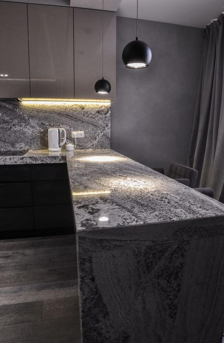 Best 25 Gray Granite Countertops Ideas On Pinterest