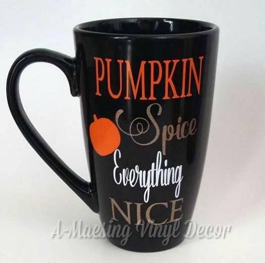 Pumpkin Spice Everything Nice Oversized Coffee Mug