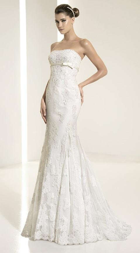 #1 Pronovias -wedding group lace dress.(831)626-1287
