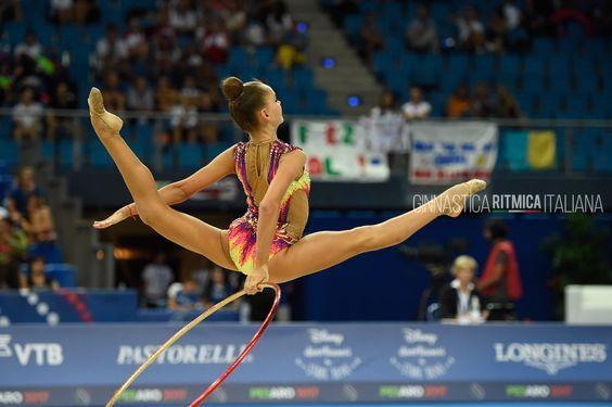 Arina Averina (Russia), World Championships (Pesaro) 2017