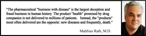 Dr. Matthias Rath's Cure Protocols    http://www.probiotics-for-health.com/cure-protocols.html