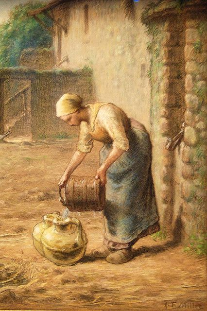 the life and works of jean francois millet Jean francois millet is credited as artist painter, ,  jean françois millet was born in gruchy near greville on oct 4, 1814 his parents were peasants, and he.