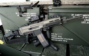 Обои CZ 805, 5.56x45, штурмовая винтовка, автомат, Bren