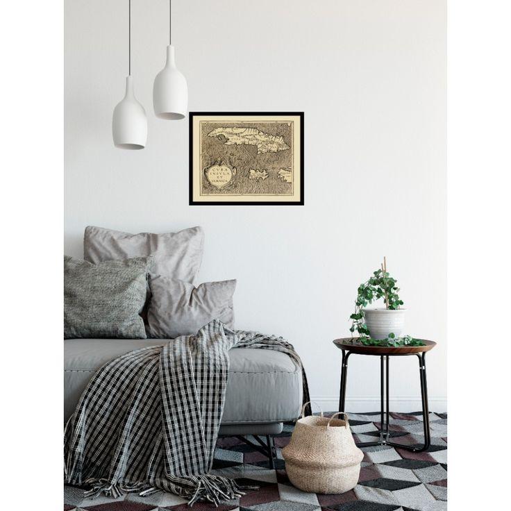 Cuba and Jamaica: Antique Wall Map - handmade paper print. Ideal hallway decor, restaurant interior decor. #map, #framed #antique, #vintage, #old, #poster, #historical,  #karte, #carte, #cuba, #jamaica, #caribbean #america #westindies, #centralamerica, #handmadepaper,  #reproduction, #reproduktion, #vintagecarte,  #vintagedecor, #antiquedecor, #pubdecor #restaurant, #pub, #livingroom #hallway #decor, #hoteldecor, #vintage, #antique, #traveldecor #walldecor, #mapgifts