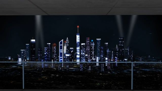 After Effects Realty project: http://j.mp/Real_Estate_AE A modern highrise city and a contemporary urban interior (residential or business styled empty office) are set up in this visual to help you promote your Real Estate, Property Construction services or Window frames, shades & blinds manufacturing!       Timelapsed traffic lights, fog and celebration Light beams can be switched ON / OFF.     A photo (or keyed video) of a Realtor or a Construction engineer can optionally inserted in the…