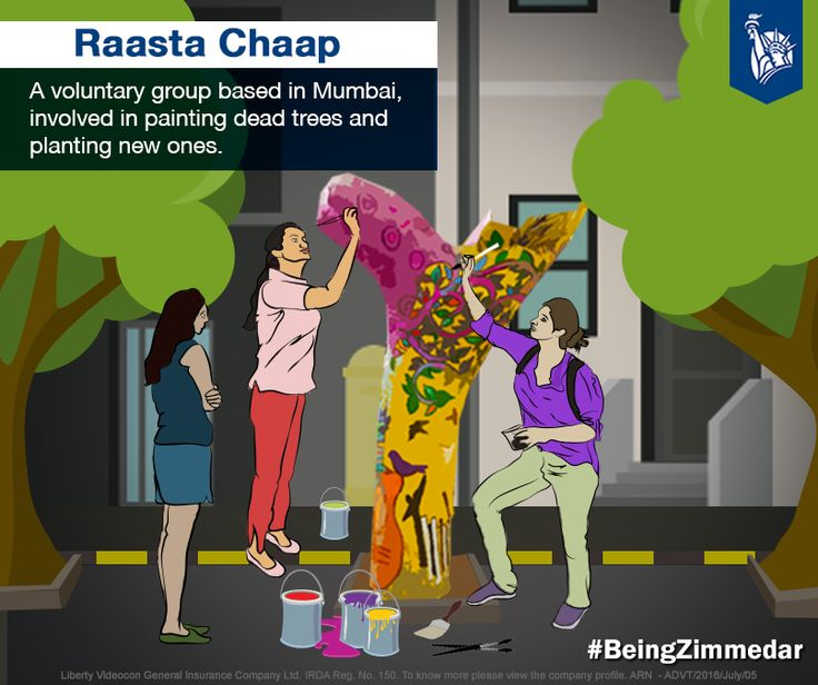 Started by a group of 14 women to spread awareness about the dying trees in Mumbai and the deteriorating condition of the environment, Raasta Chaap cares much about the trees.
