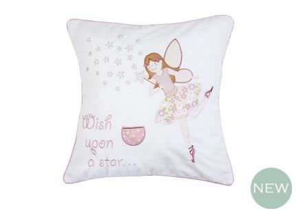 Millie Decorative Cushion Featuring our Millie fairy design, this decorative cushion adds the perfect finishing touch to girls bedrooms.