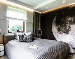mieszkanie prywatne - Gdynia Redłowo - KONKURS WNĘTRZE MIASTA - Średnia sypialnia małżeńska, styl nowoczesny - zdjęcie od Pracownia Projektowa Dragon Art Anna Maria Sokołowska