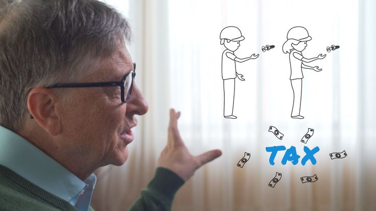 The world's richest man is arguing for taxing and slowing automation.
