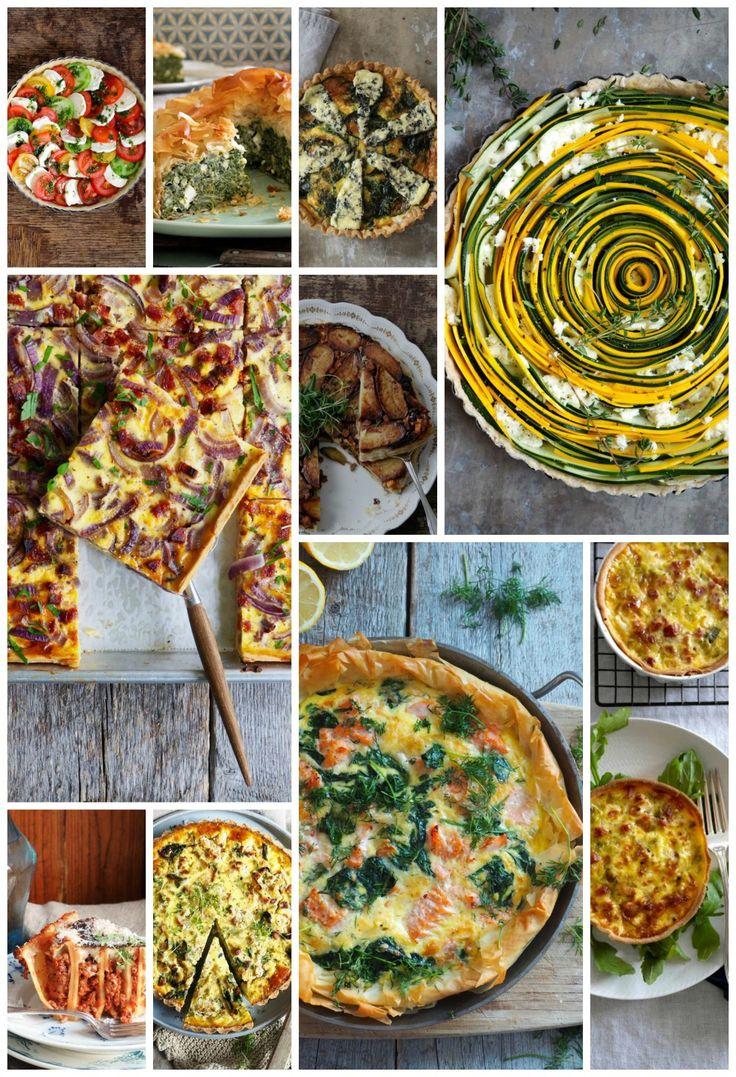 Jeg har samlet 10 deilige paioppskrifter fra bloggen i dette innlegget. Alt fra klassisk pai med purre og bacon til opp-ned potetpai. Ta en titt!