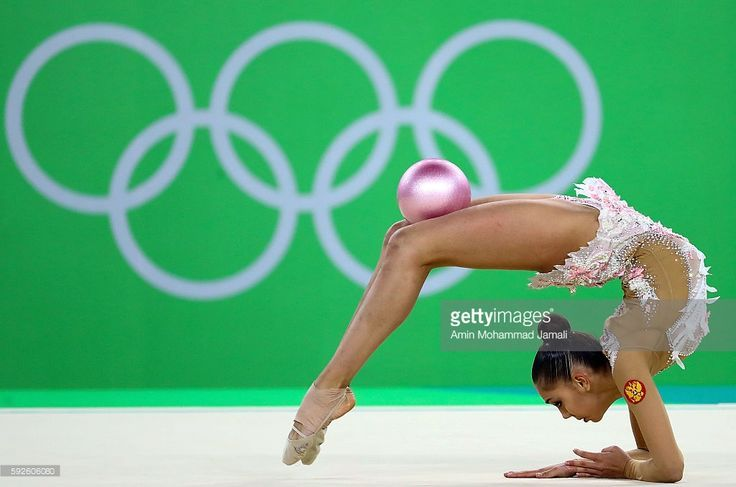 Fantastica! Margarita Mamun of Russia competes during the Women's Individual All-Around…