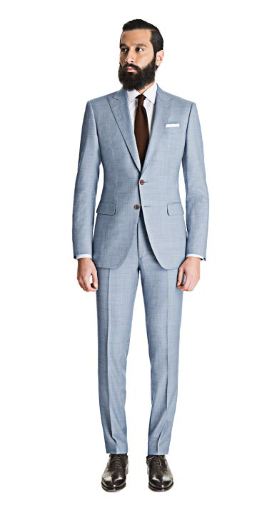 Light Blue Gray Sharkskin Suit  http://www.blacklapel.com/suits/light-blue-gray-sharkskin-suit.html?utm_campaign=3-26-2015-suits-pinterest-board&utm_medium=social&utm_source=pinterest&utm_content=3-26-2015-light-blue-gray-sharkskin-suit&utm_term=