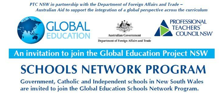 NSW schools are welcome to join the schools network program to support the implementation of a global edcuation prepective in their curriculum