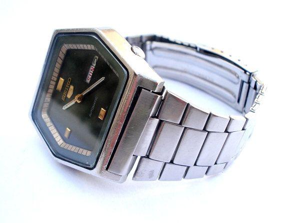 Vintage Reloj SEIKO 5 Automatico 6309-513D por shopvintage1 en Etsy