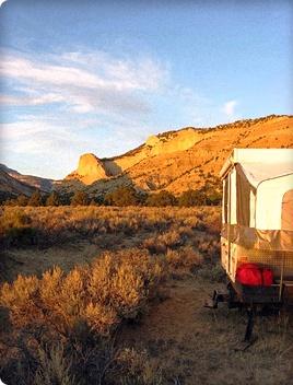 Pop up camper rental for spring travels????