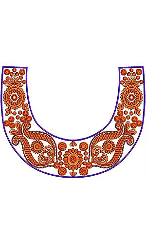 Fashion Hot Picks | Designer Round Neck Embroidery Design