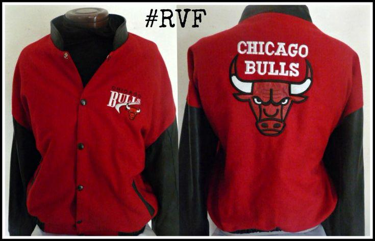 90's #VINTAGE #CHIGAGO #BULLS #lettermen jacket  #RETROSPECT #VINTAGE #FASHION  #RVF