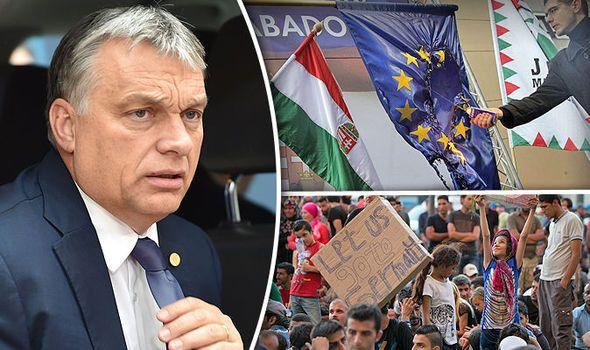 EU DOMINOES: Now Hungary calls EU referendum  Hungarian president sets date for vote