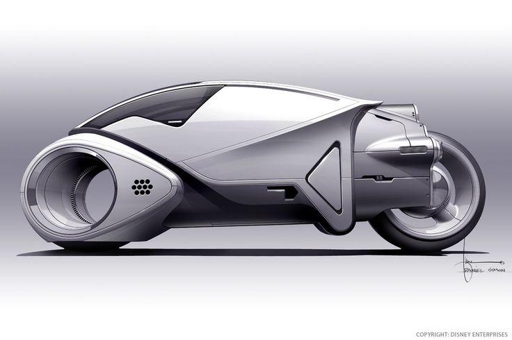 Captain America & Tron Concept Designs by Daniel Simon | Abduzeedo Design Inspiration & Tutorials