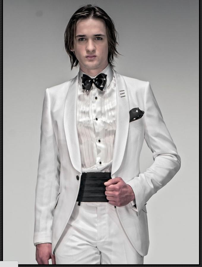 High Quality Best Stylish Haut Groom Tuxedos Men'S Wedding Dress Prom Clothing Jacket+Pants+Tie+GirdleA:86 Black Wedding Tuxedos Cheap Tuxedos Rentals From Good Happy, $68.07| Dhgate.Com
