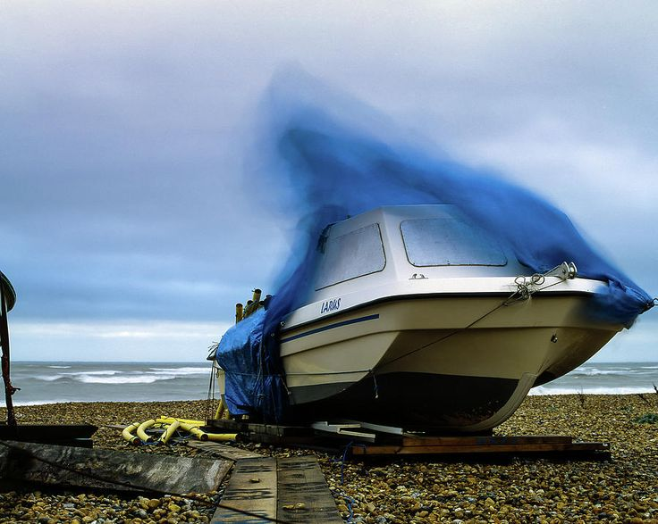 Boat On A Windy Day. Photograph by Will Gudgeon