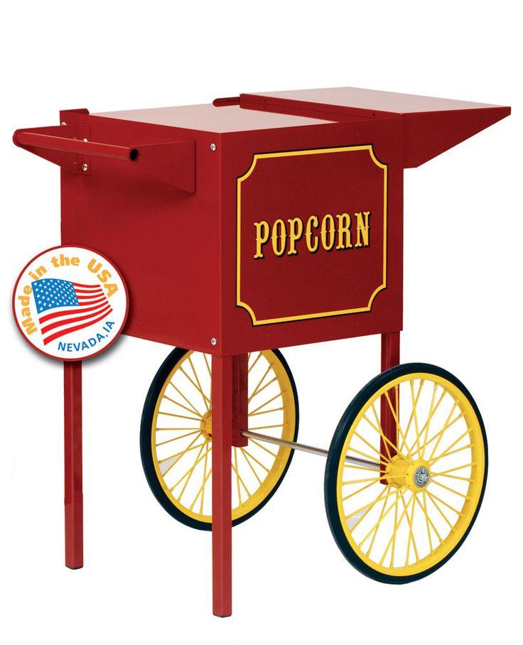 http://www.kitchenstyleideas.com/category/Popcorn-Machine/ Theater Pop and 1911 4 oz. Popcorn Machine Cart