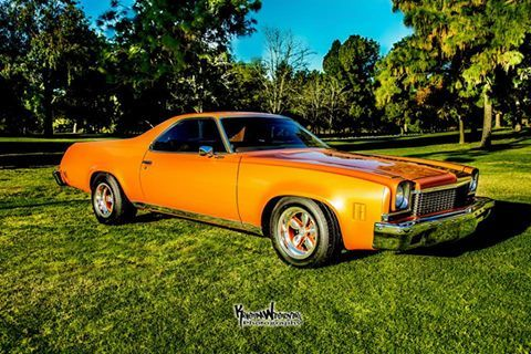 Some Cool Photos Sent In From Opgcustomer Tony D Ambrosio Of His 1973 El Camino Shop El Camino Parts Here Www O Classic Cars El Camino Power Cars