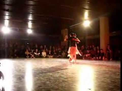 Leandro y Carla - 4to Lugar Tango Salon 2007 - La Viruta