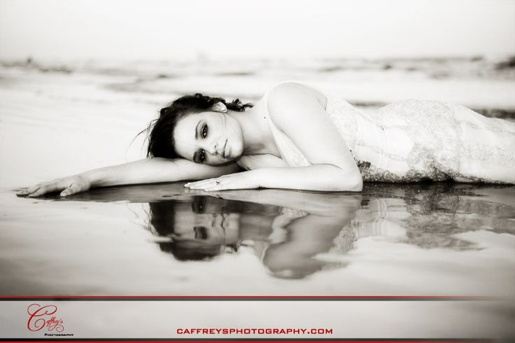 """Trash the Dress;normally not """"down"""" with trashing the dress...but this shot i love"""