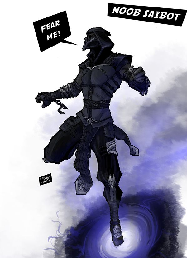 Noob Saibot- Mortal Kombat on Behance