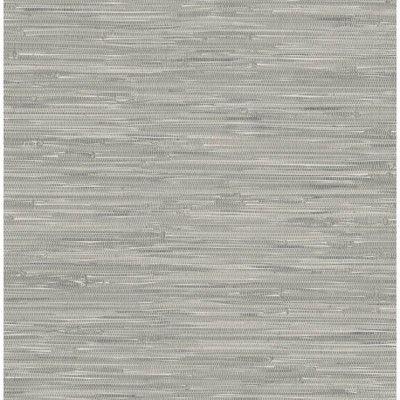 Nuwallpaper Tibetan Grasscloth Peel Stick Wallpaper Gray Grasscloth Wallpaper Peel And Stick Wallpaper Grey Wallpaper