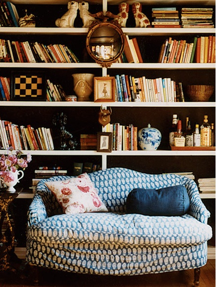 I NEED this reading room.