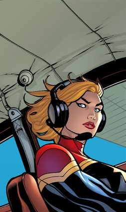 Captain Marvel by Terry Dodson