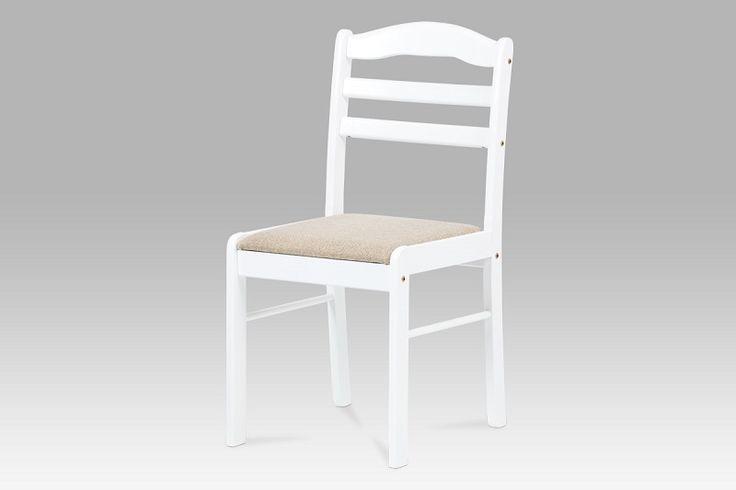 Stolička C-2002 WT, biela