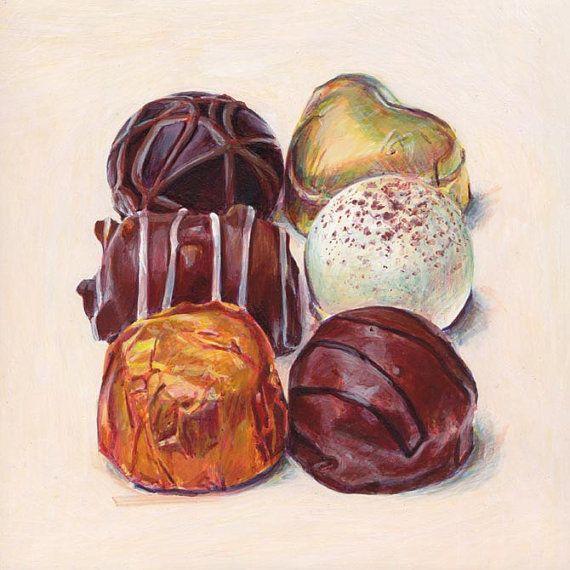 Chocolates 3. Giclée print. от JoelPenkman на Etsy
